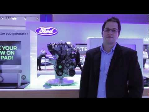 Ford 1.0L Ecoboost Engine Reveal - Morrie's @ The L.A. Auto Show