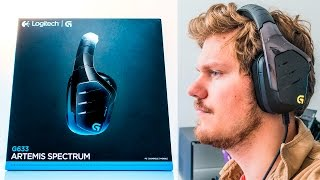 Logitech G633 Artemis Spectrum Review - Best Gaming Headset Today!?