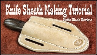 Download Leatherworking ✔ How to make leather knife sheaths - Session 2 - Leathercraft Mp3 and Videos