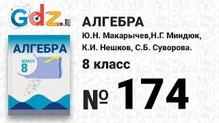 № 174- Алгебра 8 класс Макарычев