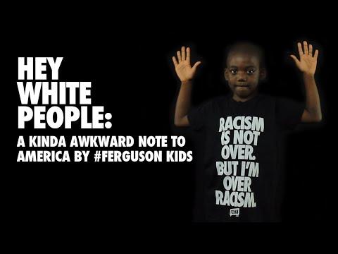 Hey White People: A Kinda Awkward Note to America by #Ferguson Kids by FCKH8.com