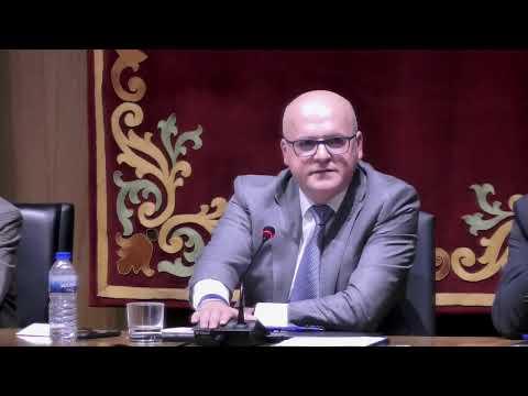 Pleno ordinario Diputación de Ourense, 28 de Febrero de 2020