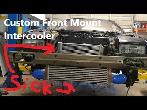 Z31 300zx Gets a Front Mount Intercooler & Radiator! Giveaway!!!(Part7)