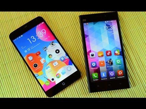 Meizu MX3 vs Xiaomi Mi3: обзор-сравнение (review & comparison)