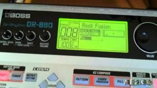 boss dr 880 drum machine by mezico