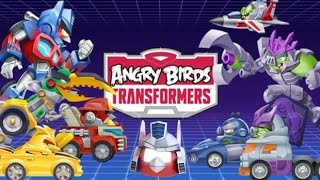 angry Birds Transformers android game. Обзор игры