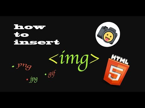 How To Insert An Image In Html (png, Jpeg, Gif, Tiff, Raw,...) | 📸 | How To Show An Image In Html
