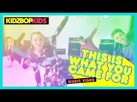 KIDZ BOP Kids - This Is What You Came For (Official Music Video) [KIDZ BOP 33]