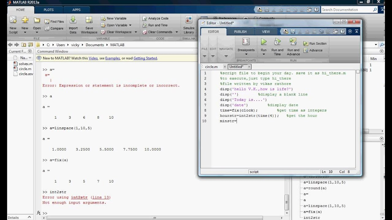 Methods as how to display date time in matlab matrix for Table 2 matrix matlab
