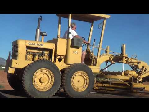 Galion 503 Motor Grader Lanamer Heavy Machinery Arizona