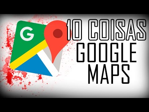10 COISAS ESTRANHAS ENCONTRADAS NO GOOGLE MAPS!