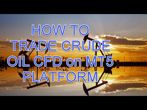 Oil Price Hit $20 – How To Trade Crude Oil CFD on MT5 Platform