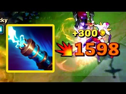 JINX W CAN CRIT? 1500+ Hits BROKEN?