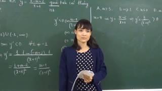 Xét tính đồng biến, nghịch biến của hàm phân thức
