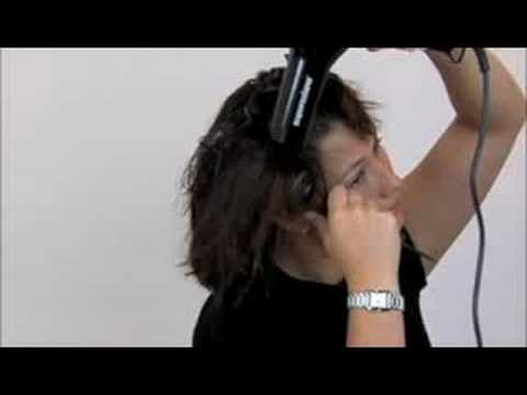 How to Blow Dry Hair with a round brush