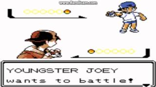 Pokemon Crystal - Trainer Battle Theme - User video