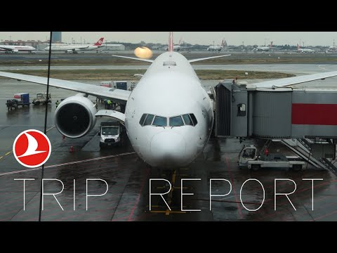 PART 2 TRIP REPORT   Turkish Airlines   Istanbul To Chicago   777-300ER   Economy REVIEW