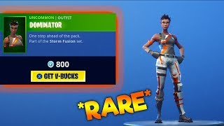 RARE DOMINATOR SKIN IS BACK! Fortnite ITEM SHOP 9th August
