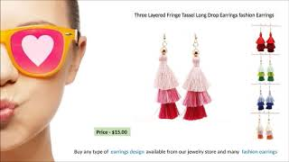 Fashion Earrings For every women and girls & New Earrings Design