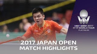 2017 Japan Open | Highlights Ma Long vs Fan Zhendong (Final)