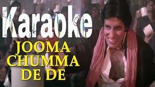 Jumma Chumma De De Karaoke - Hum ( 1991 ) Sudesh Bhosle & Kavita Krishnamurthy
