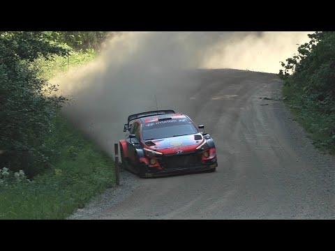 Craig Breen Rally Estonia 2021 test
