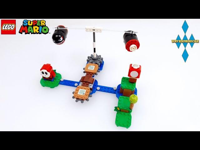 Lego Super Mario - 71366 Boomer Bill Barrage / Riesen Kugelwillis