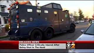 Officer In Surgery After Being Shot In Head In Queens Village
