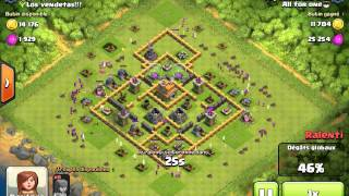 Clash of Clans| Ma techique Full Archers;)