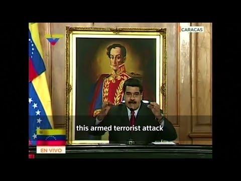 Helicopter flown over Supreme Court in Venezuela