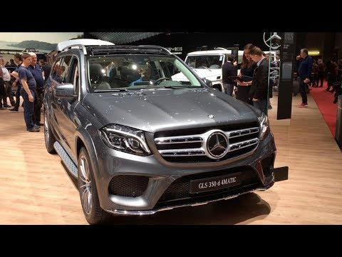 Thumbnail: Mercedes-Benz GLS 350 d 4MATIC 2017 In detail review walkaround Interior Exterior