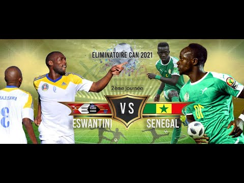 Eswatini 1-4 Senegal  AFCON 2021 QUALIFIER HIGHLIGHTS