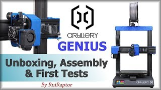 Artillery Evnovo GENIUS (3D Printer) - Assembly & First Tests