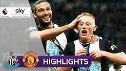 Debütant schockt United | Newcastle United - Manchester United 1:0 | Highlights - Premier League