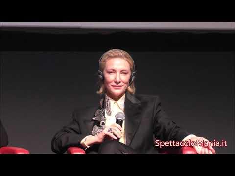 Videoincontro con Cate Blanchett ne Il Mistero della casa del tempo alla Festa del Cinema