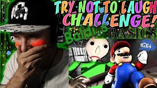 """Video Vapor Reacts #652   TRY NOT TO LAUGH CHALLENGE """"If Mario was in Baldi's Basics"""" by SMG4 REACTION!! download MP3, 3GP, MP4, WEBM, AVI, FLV Juli 2018"""