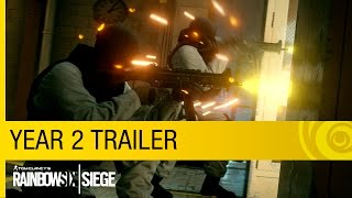 Tom Clancy's Rainbow Six Siege – Year 2 Trailer [US]