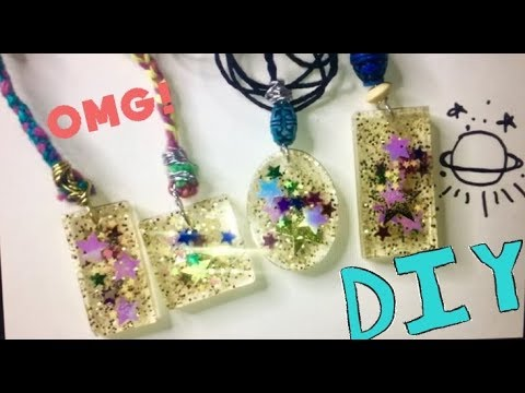 HOW TO MAKE RESIN JEWELRY!