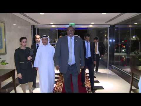 President of Republic of Somaliland Visit  Emirates Arab