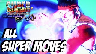 SUPER DEAD RISING 3 ARCADE REMIX - All Super Moves (All Characters / Costumes) [HD] 1080p Xbox One