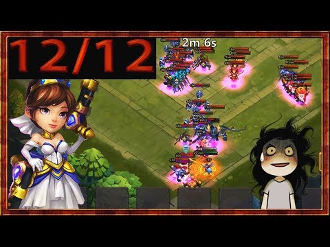 Gunslinger 12/12 Skill | Gameplay | CASTLE CLASH 😱