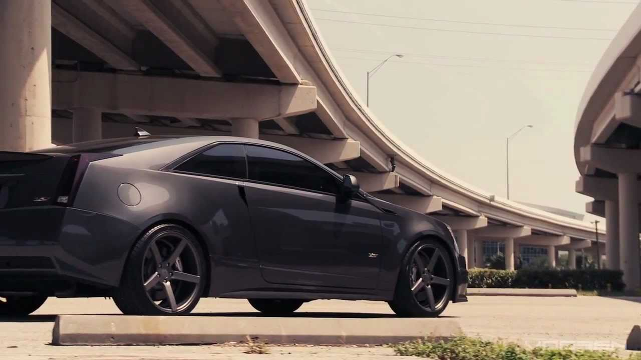 Cadillac Cts V Quot Supercharged Coupe Quot Vossen Cv3 Youtube