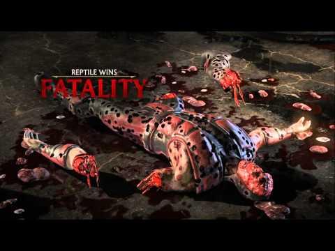 Mortal Kombat X- All Character Stage Fatalities