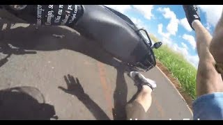 Biker Smash Mirror | Extremely Close Calls, Road Rage, Crashes & Scary Motorcycle Accidents [EP #73]