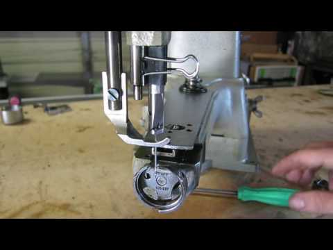 How-To: Sewing Machine Hook Timing  - Pfaff 335