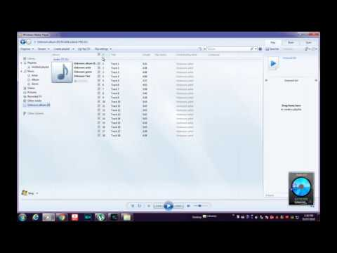 How to  copy Audio CD to Computer in Windows Media Player