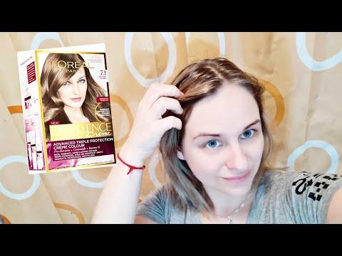 ПЕПЕЛЬНО - РУСЫЙ ЦВЕТ волос / лучшая краска ЭКСЕЛАНС крем 7.1 / Ellina OZ - жизнь в Турции