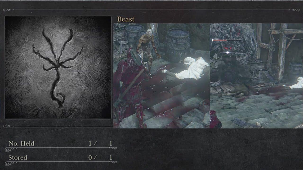 bloodborne beast rune