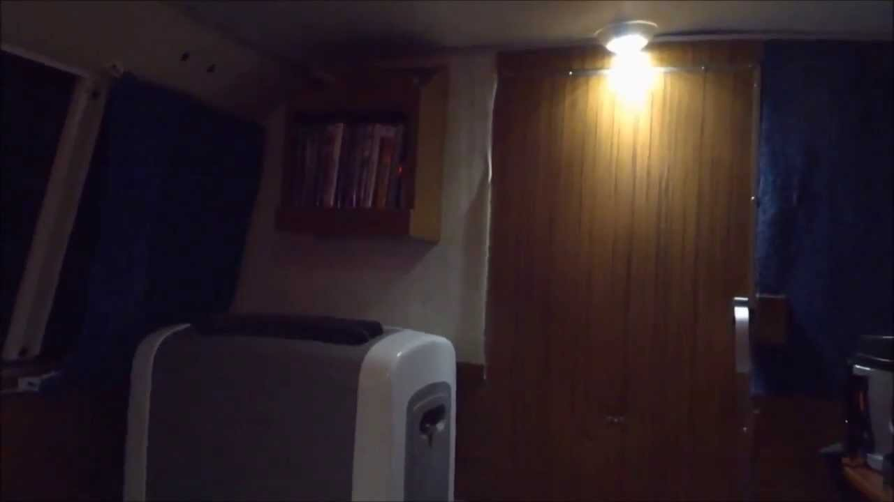DIY Camper Van Portable Air Conditioning Setup