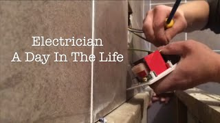 Electrician // A Day On The Job !!